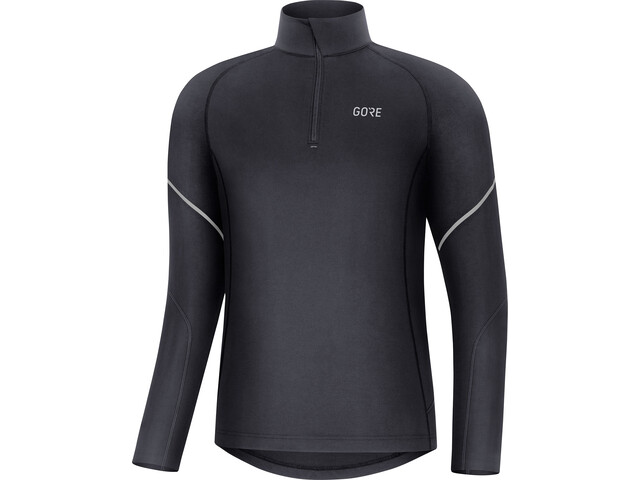 GORE WEAR M Mid Long Sleeve Zip Shirt Men black
